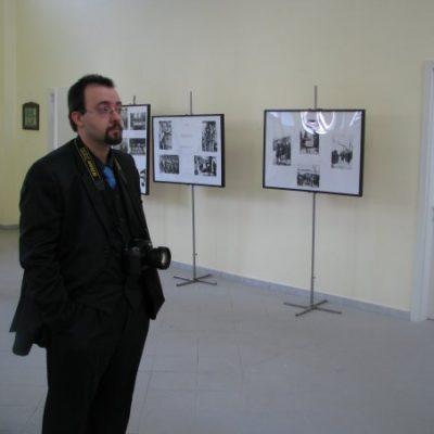 L'exposition sur l'exode istrien-dalmatien.