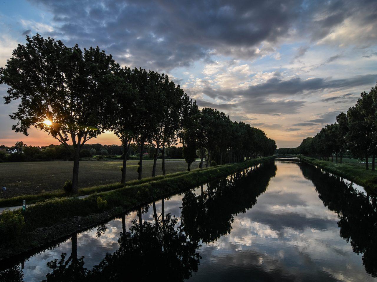 Belgium landscape